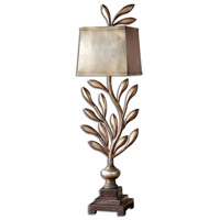 Uttermost Angelita Buffet Table Lamp in Heavily Antiqued Champagne Leaf 29513-1