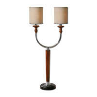 Uttermost Pendleton 2 Light Table Lamp in Nickel 29575-1