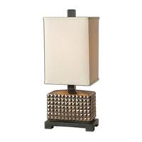 Uttermost Marzano 1 Light Accent Lamp in Golden Bronze Glaze 29580-1