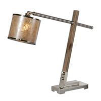 Uttermost Herminia 1 Light Accent Lamp in Wood 29584-1