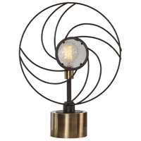 Uttermost 29589-1 Ventilador 23 inch 100 watt Black Table Lamp Portable Light