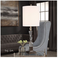 Uttermost 29620-1 Twyla 38 inch 150 watt Brushed Nickel and Crystal Table Lamp Portable Light 29620_Lifestyle.jpg thumb