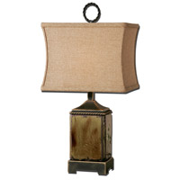 Porano 24 inch 100 watt Distressed Porcelain Table Lamp Portable Light