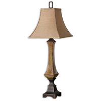 Uttermost Porano Table Lamp in Mossy Green Glaze 29893