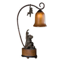 Uttermost Monkeyshine Lamp Table Lamp in Patinaed Bronze 29919-1 thumb