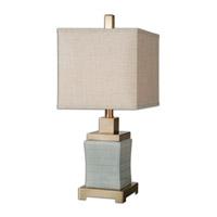 Uttermost Cantarana 1 Light Table Lamp in Blue Gray 29948-1