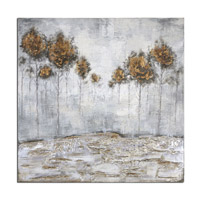 Iced Trees Abstract Wall Art