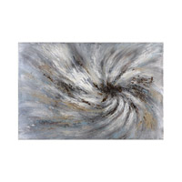 Vortex Earth Tone Art, Hand Painted, Abstract