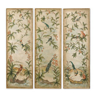Uttermost Aviary Panel I II & III - Set of 3 Art 32038