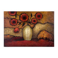 Uttermost Red Poppies Art 32076