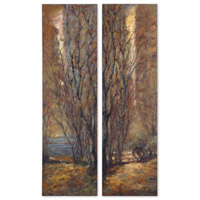 Uttermost Tree Panels Set of 2 Art 32147