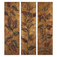 Uttermost Climbing Vine Panels Set of 3 Art 32156