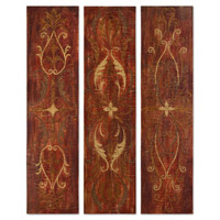 Uttermost Elegant Panels Set of 3 Art 32160