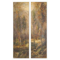 Uttermost Woodland Panels Set of 2 Art 32177 photo thumbnail