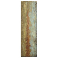 Red Clay Frameless Stretched Canvas Wall Art