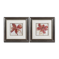 Uttermost Floral Gesture Set of 2 Wall Art 33569