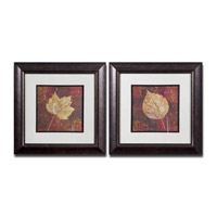 Uttermost Golden Fall Set of 2 Wall Art 33570