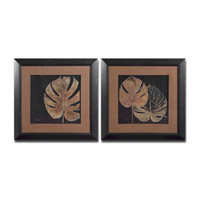 Uttermost Black Balazo Set of 2 Wall Art 33571