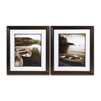 Uttermost Island Transport Set of 2 Wall Art 33581