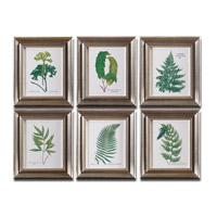 Uttermost Ferns Set of 6 Wall Art 33592