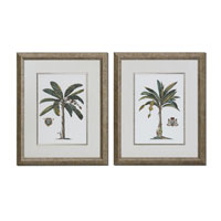 Uttermost 33604 Palm & Crest 29 X 24 inch Art Prints thumb