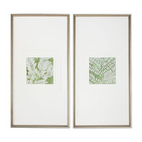 Uttermost Meadow Leaves Wall Art (Set of 2) 33606 photo thumbnail
