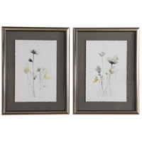 Stem Illusion 34 X 26 inch Floral Art, Set of 2