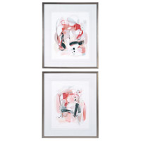 Soft Speak 30 X 26 inch Abstract Prints, Set of 2