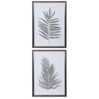 Silver Ferns 39 X 29 inch Framed Prints, Set of 2
