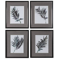 Eucalyptus Leaves 31 X 26 inch Framed Prints, Set of 4