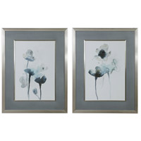 Midnight Blossoms 35 X 27 inch Framed Prints, Set of 2