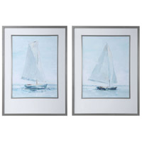 Uttermost 33708 Seafaring 34 X 25 inch Framed Prints, Set of 2 thumb