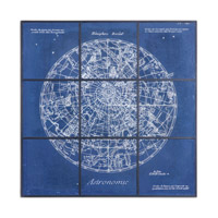 Uttermost Astronomy Chart Framed Art 33900
