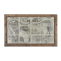 Uttermost Treasure Map Art 34025