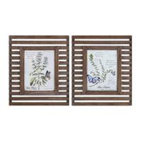 Uttermost Herbs & Butterflies Art 34037
