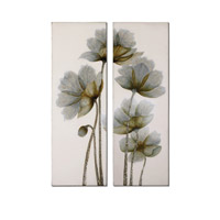 Uttermost Floral Glow I II Set of 2 Art 34201