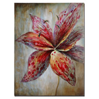 Splash Of Spring Frameless Stretched Canvas Wall Art