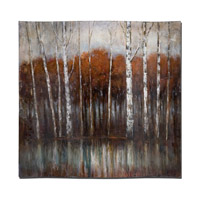 Uttermost Rippled Landscape Wall Art in Hand Painted on Hard Board 34215