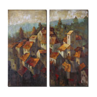 Uttermost 34232 Rooftops 40 X 20 inch Paintings thumb