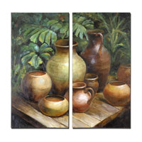 Uttermost 34233 Vessels In Waiting 40 X 20 inch Paintings thumb