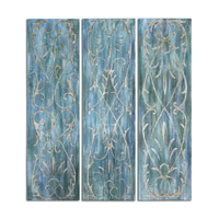 Uttermost French Quarter Trellis Set of 3 Wall Panels 34288