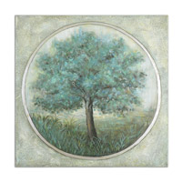 Uttermost Peaceful Escape Hand Painted Art 34292