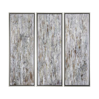 Uttermost Shades Of Bark Art in Silver 34363