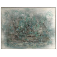 Uttermost 34371 Ice Storm 49 X 37 inch Abstract Art