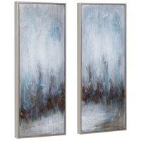 Uttermost 34376 Rainy Days 33 X 13 inch Abstract Art, Set of 2 34376_A1_ANGLE.jpg thumb