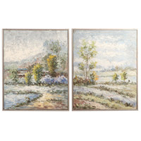 Uttermost 34396 Wayward Rivers 21 X 17 inch Landscape Art, Set of 2