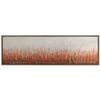 Uttermost 34398 Burning Fields 72 X 22 inch Abstract Art