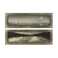Uttermost Twilight Sail Set of 2 Framed Art 35232