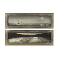 Uttermost Twilight Sail Set of 2 Framed Art 35232