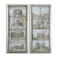 Uttermost Architectural Survey Set of 2 Wall Art 35237